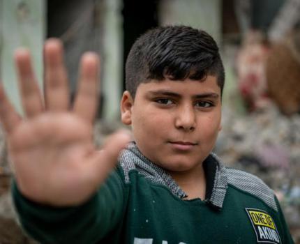 STOP THE WAR ON CHILDREN.